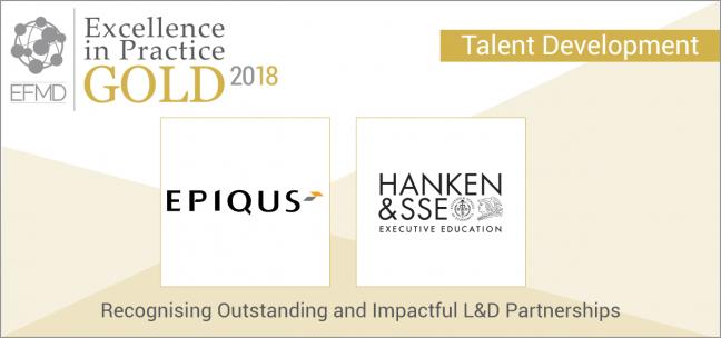 The Hanken & SSE integration programme Business Lead wins award