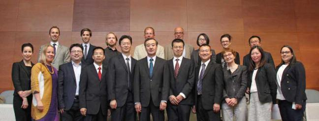 IP KEY-Legislative Affairs Commission visits Hanken