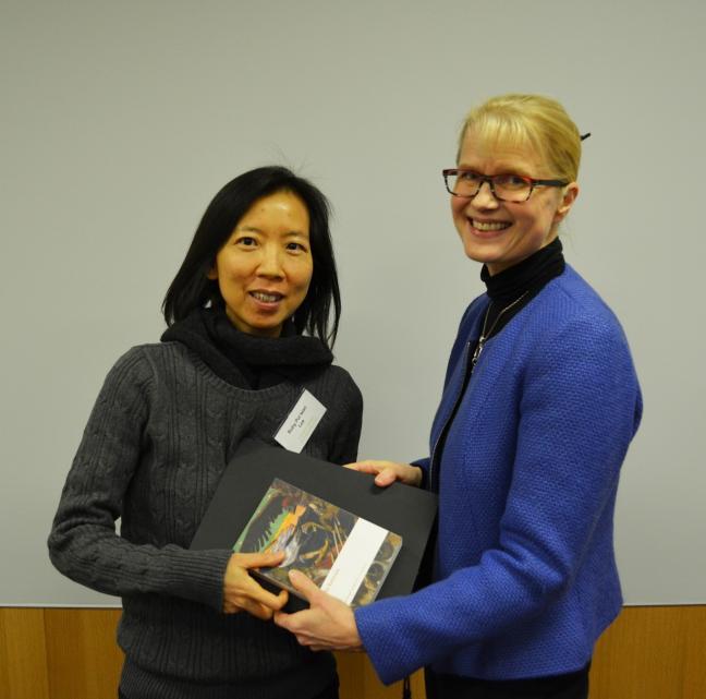 Ruby Lee Fulbright scholar at Hanken