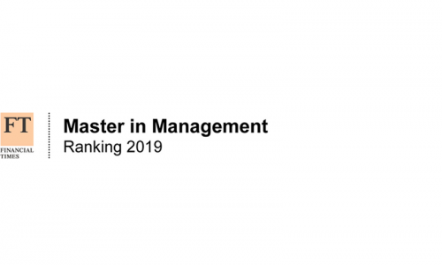 FT master in management 2019