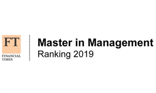 FT masters in management 2019 logo