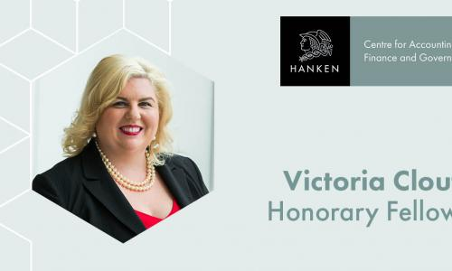 Victoria Clout, Hanken AFG Centre's Honorary Fellow