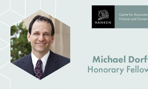 Michael Dorff Honorary is a Honorary Fellow of Hanken AFG Centre