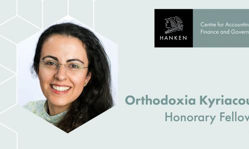 Orthodoxia Kyriacou, AFC Centre Honorary Fellow