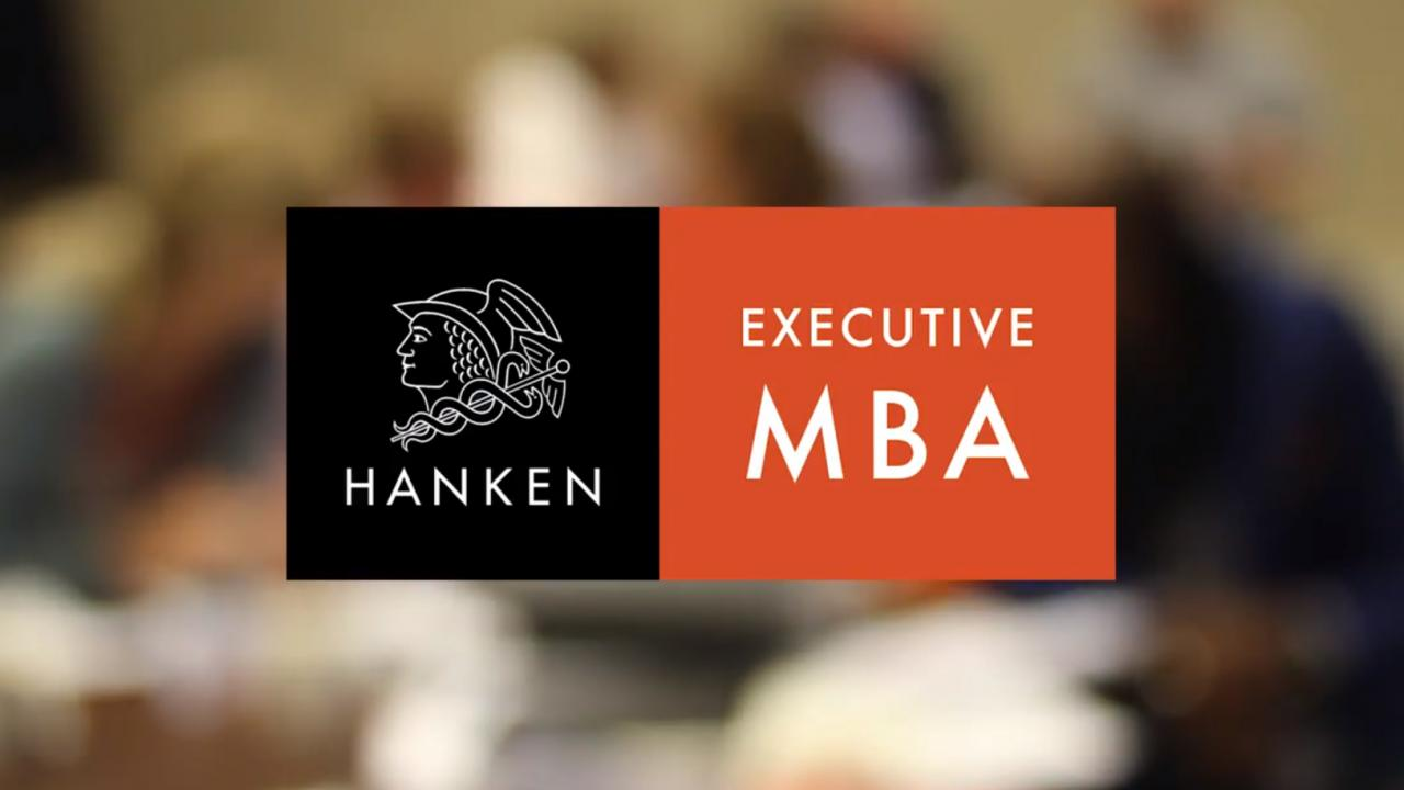 Hanken SSE Executive MBA