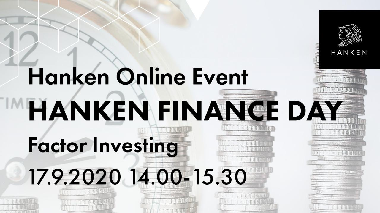 Hanken Finance Day 2020