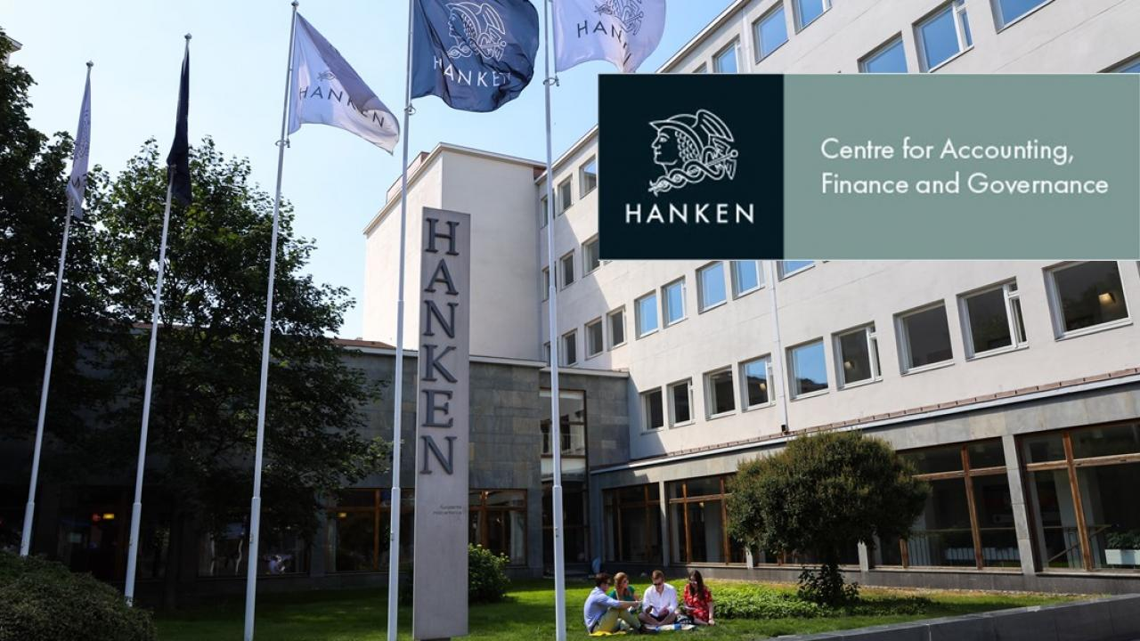 Hanken Helsinki and logo of AFG Centre