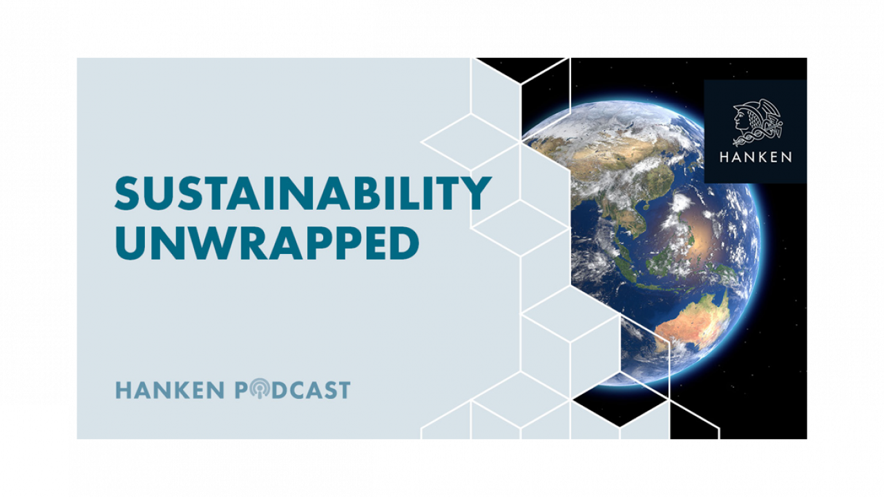 Sustainability Unwrapped Hanken Podcast